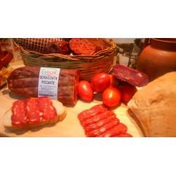 Salami Schiacciata gorri gozoa 1 kg inguru