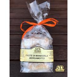 Dolcetti Pasta di Mandorla Al Bergamotto 300 gr
