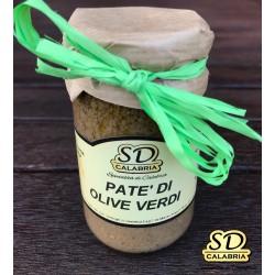 Vasetto Patè di olive verdi Gr 212