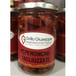 Vasetto Peperoncini Tagliuzzati piccanti 314 ml