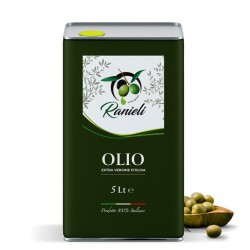 Olio extra vergine di oliva calabrese 25 Lt (PRODUZIONE SAN CALOGERO VV)