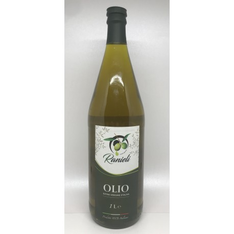Olio extra vergine di oliva calabrese 1 Lt (PRODUZIONE SAN CALOGERO VV)