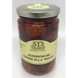 Pimentos recheados em jarra com nduja Gr 314