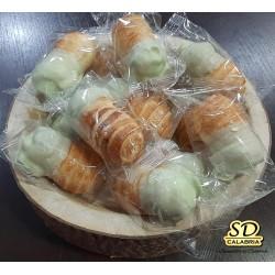 Cannoli con crema di pistacchio 300 gr